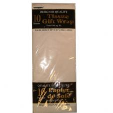 White Tissue Paper 10 Sheet Pack